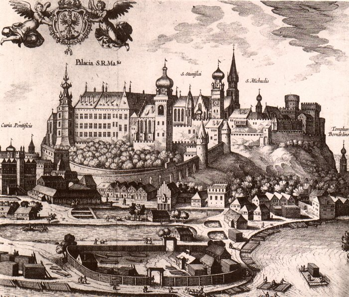 Wawel Hill at 16th century